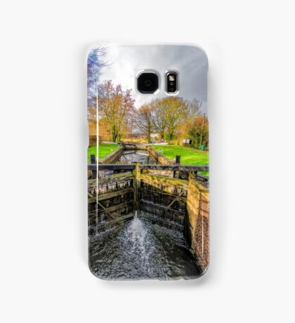 The Lock  Ripon Canal Samsung Galaxy Case/Skin
