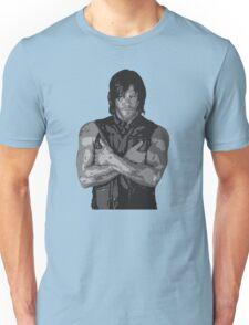 The Walking Dead - Daryl Dixon Profile Unisex T-Shirt