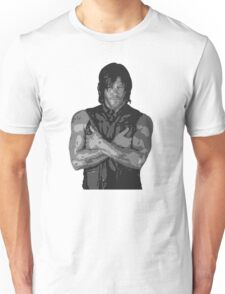 The Walking Dead - Daryl Dixon Profile Unisex T-Shirt