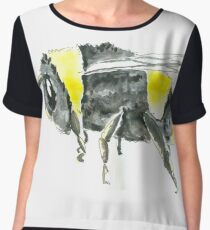 bumble bee Women's Chiffon Top