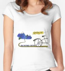 Ride for Peace and Justice Women's Fitted Scoop T-Shirt