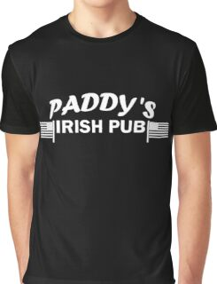 Paddys Irish Pub white Graphic T-Shirt
