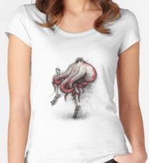 Octo Stilts Shirt (for light shirts) Women's Fitted Scoop T-Shirt