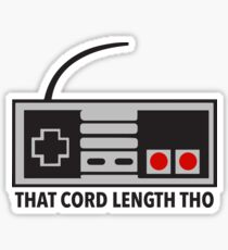 NES Nintendo Classic Edition Mini Controller Cord Length Tho Sticker