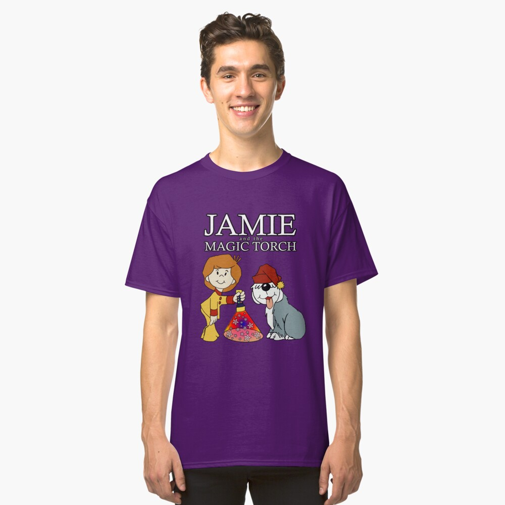 Jamie and the Magic Torch Classic T-Shirt Front