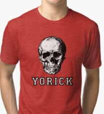 Yorick's Skull From Hamlet Tri-blend T-Shirt