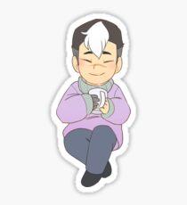 Holiday Shiro Sticker