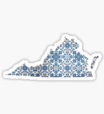 Virginia 6 Sticker