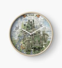 On Earth, ....................... Clock