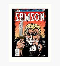 Samson Comics Art Print