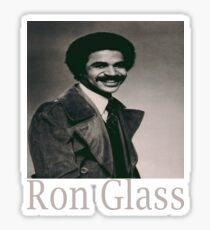 ron glass Sticker