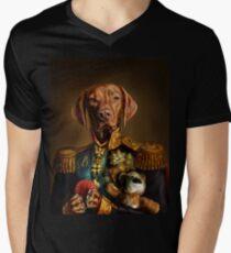 Bertie the Hungarian Vizsla Men's V-Neck T-Shirt
