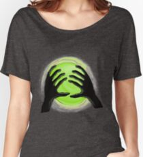 Green Sphere  Women's Relaxed Fit T-Shirt