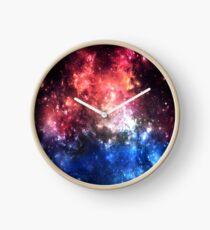 Stars in space Clock