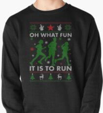 Running Ugly Christmas Tee T-Shirt
