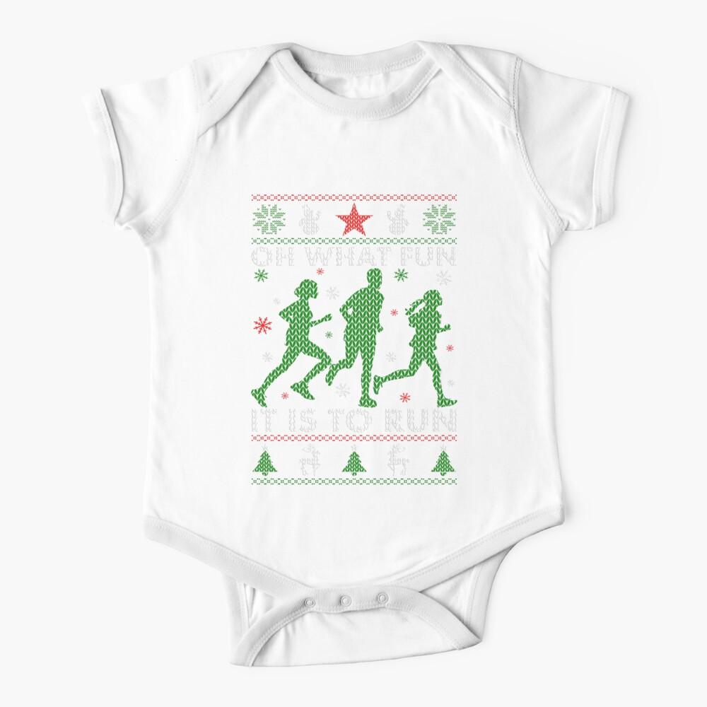 Hässliches Weihnachtst-stück laufen Baby Body