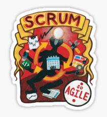 Scrum Circus Sticker