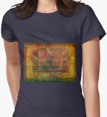 Rumi Love quote Womens Fitted T-Shirt
