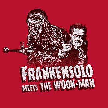 Frankensolo meets the wook-man by Gimetzco