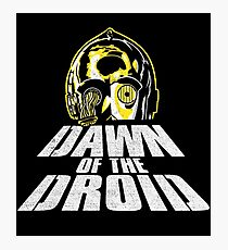 Dawn of the Droid Photographic Print