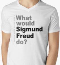What would Sigmund Freud do? 2 Men's V-Neck T-Shirt