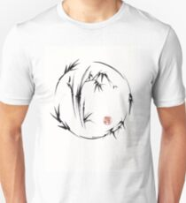 Aureole - enso brush pen painting T-Shirt