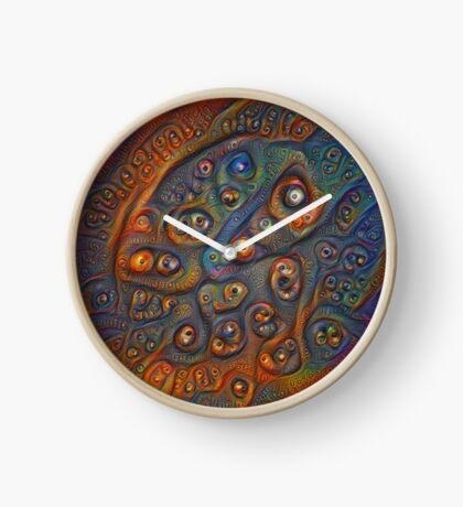 Planet Three #Deepdream Clock