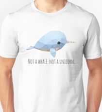 Low Poly Narval Unisex T-Shirt