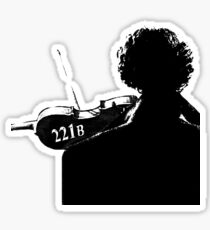 I Play the Violin When I'm Thinking Sticker