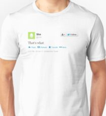 That's what she tweeted (black) T-Shirt