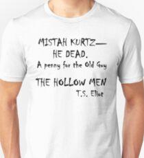 The Hollow Men Unisex T-Shirt