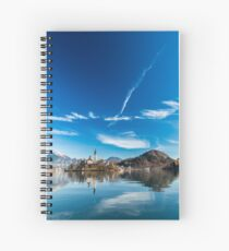 morning at the lake of Bled Spiral Notebook