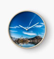 morning at the lake of Bled Clock
