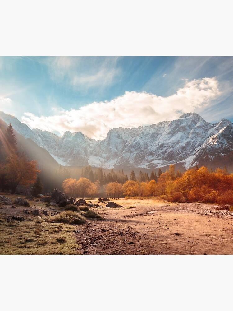 sunrinse de otoño en el valle de zakaz86