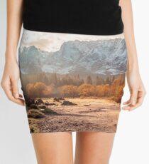 autumn sunrinse in the valley Mini Skirt