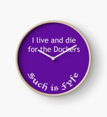 I live and die for the Dockers - Such is Fyfe! Clock