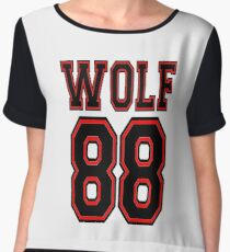 ♥♫I Love KPop-Awesome EXO WOLF 88♪♥ Women's Chiffon Top