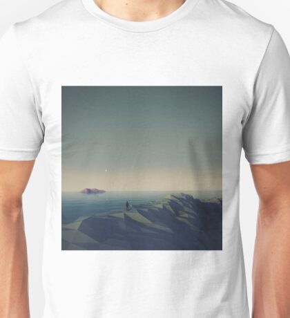 Trapped in low-poly Unisex T-Shirt