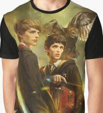 BBC Merlin: Emrys Ascending Graphic T-Shirt