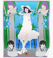Silhouette Hitagi Poster