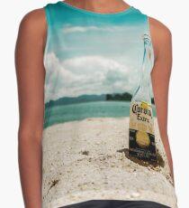 Beer in the Beach Contrast Tank