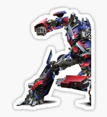 transformers optimus prime Sticker