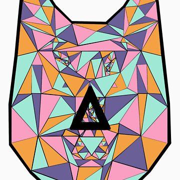 Bastille Wolf Triangle Design by twerewolfitude