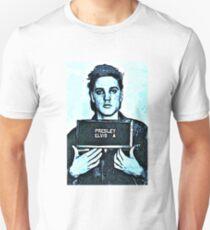 elvis presley mugshot Unisex T-Shirt