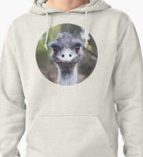 The Judging Emu - Comical Animals - Australia Pullover Hoodie