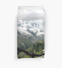 Mountain Bike Duvet Cover