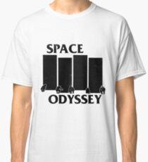 2001 Space Odyssey x Black Flag Mashup Classic T-Shirt