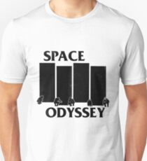 2001 Space Odyssey x Black Flag Mashup Unisex T-Shirt