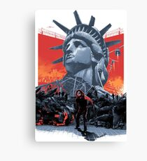 Escape From New York Canvas Print