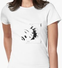 Edith Piaf Womens Fitted T-Shirt